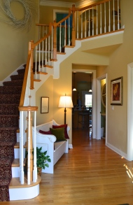 AFTER - Foyer Staging