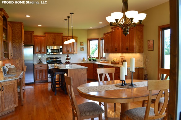 PROUD HOME Staging, LLC-Kitchen, AFTER