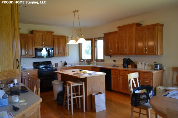 PROUD HOME Staging, LLC-Kitchen,BEFORE