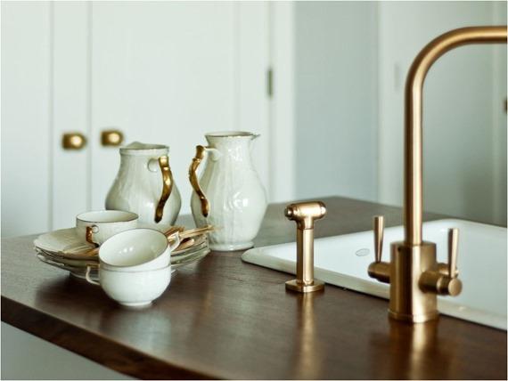 brass-kitchen-faucet